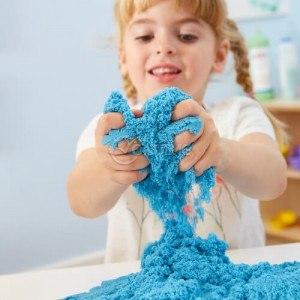 Кинетичен пясък за забавни детски игри