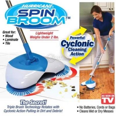 Механичен уред за почистване метла Spin Broom