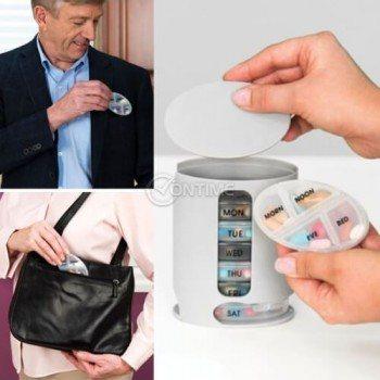 Органайзер за хапчета витамини добавки Pill Pro