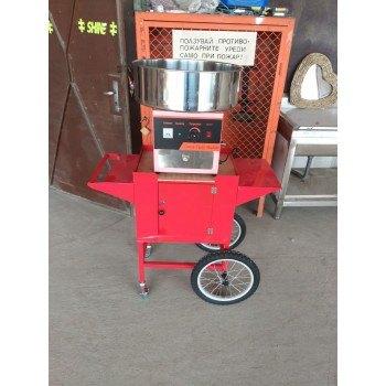Машина за захарен памук професионална