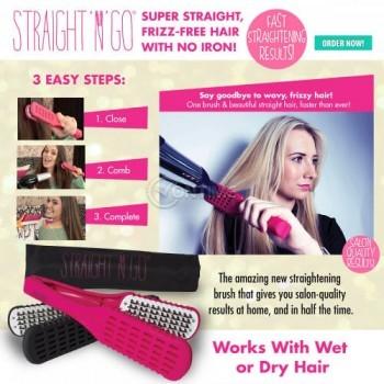 Електрическа четка за изправяне на коса