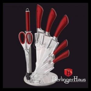 Комплект ножове с ножица и стойка Berlinger Haus