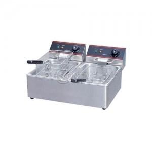 Професионален електрически фритюрник 2 х 8 литра