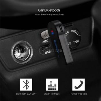Безжичен аудио AUX приемник с Handsfree за кола BIAOTA LY20