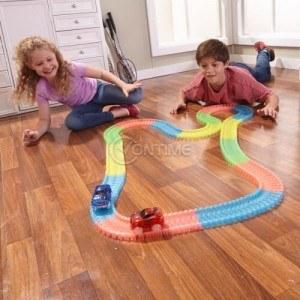 Детска светеща писта за коли Magic Tracks 220 части