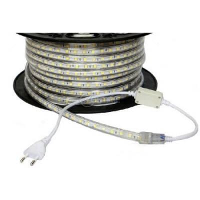RGB led лента на метър 220V водоустойчива SMD 5050 60leds/m