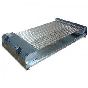 Електрическа скара 3200W професионална две зони на нагряване 65 х 35 см