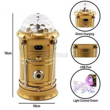 LED фенер и диско лампа
