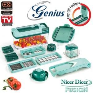 Кухненско ренде Nicer Dicer Fusion сет от 13 части