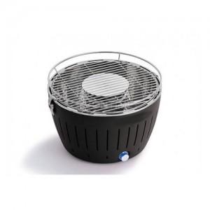 Барбекю на дървени въглища без дим с вентилация