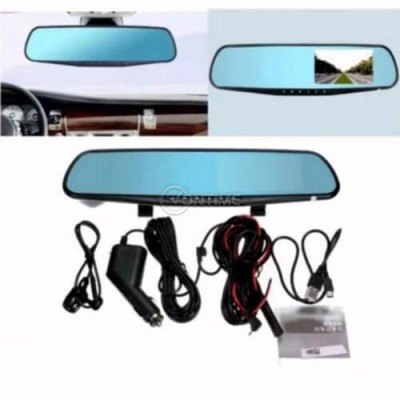 Видеорегистратор за кола в огледало за обратно виждане с камера