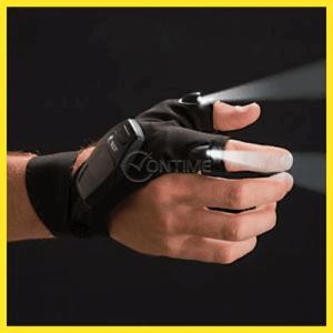 Ръкавица с вграден фенер