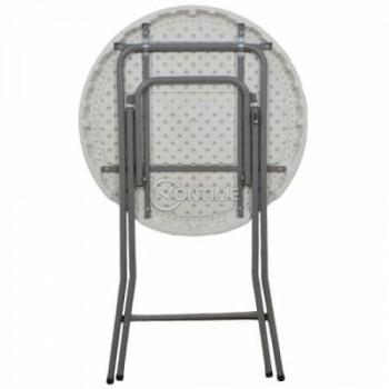 Маса за кетъринг сгъваема кръгла диаметър 80 см.