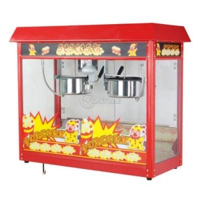 Професионална машина за пуканки монофазна