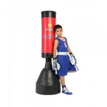 Боксова круша на стойка за деца