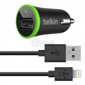 Зарядно за кола за iPhone 5/5s/5c/6/6plus iPad 4 и iPad Mini