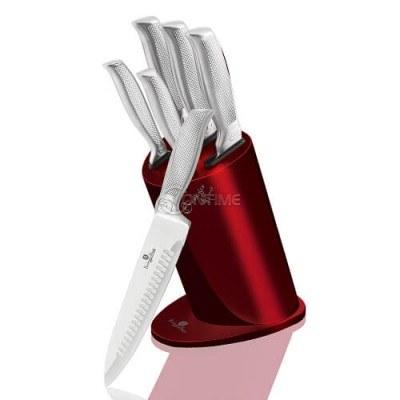 Berlinger Haus BH2273 комплект стоманени ножове и стойка