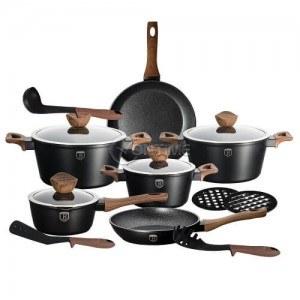 Комплект съдове и прибори за готвене Berlinger Haus BH1537