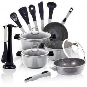 Комплект съдове и прибори за готвене BERLINGER HAUS BH 1115