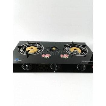 Газов котлон керамичен с три горелки
