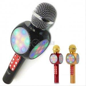 Блутут микрофон с вградена колонка USB/TF/FM