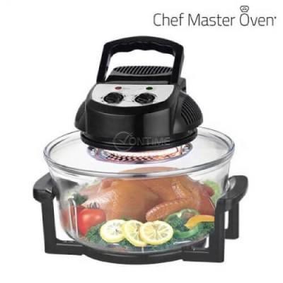 Конвекторна готварска печка 1400W CHEF MASTER KITCHEN 12 L