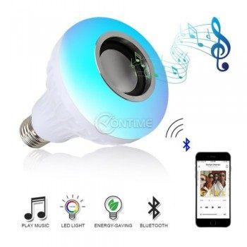 Bluetooth диско крушка с колонка и дистанционно
