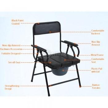 Тоалетен стол, еко кожа