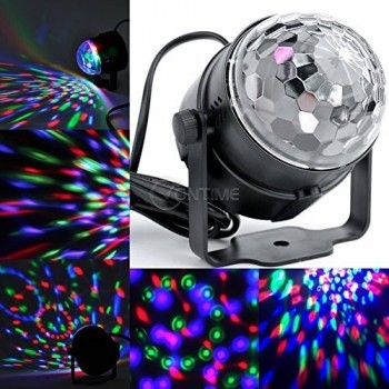Диско лампа с дистанционно