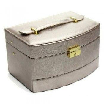 Кутия за бижута от еко кожа 14 х 22 х 14 см.