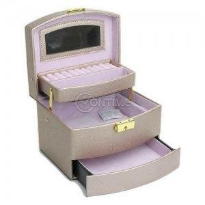 Кутия за бижута с огледало 13 х 20 х 15см.