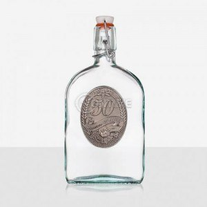 Бутилка за алкохол подарък за 50 годишнина