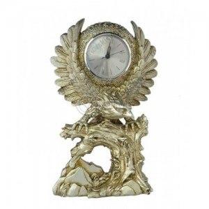 Декоративен часовник статуетка Орел