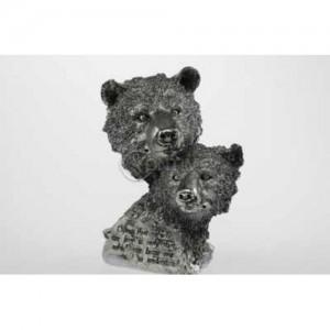 Статуетка глави на мечки