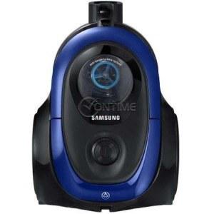 Прахосмукачка без торба Samsung VC07M2110SB, 1.5 l, 700 W, Телескопична тръба, Anti-tangle Cyclone,Синя