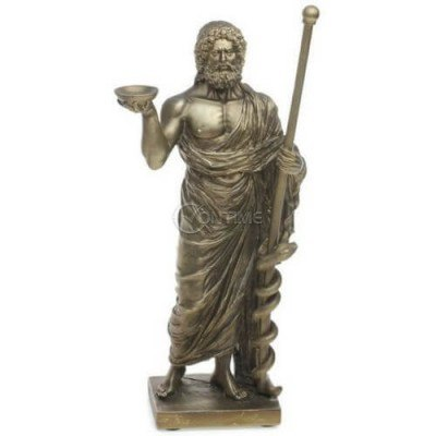 Декоративна статуетка Асклепий