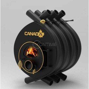 Калориферна печка на дърва Canada 01 със стъкло