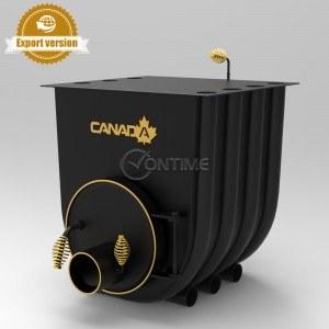 Печка на дърва Canada 01 classic за огрев и готвене