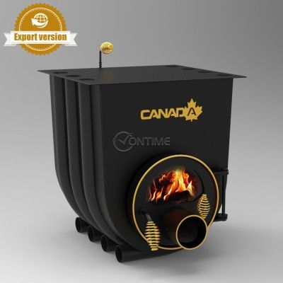 Печка на дърва Canada 01 classic за огрев и готвене със стъкло