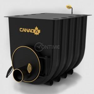Печка на дърва Canada 02 classic за огрев и готвене