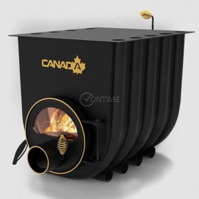 Печка на дърва Canada 03 classic за огрев и готвене със стъкло
