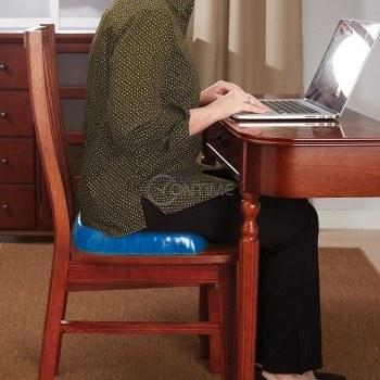 Силиконова ортопедична възглавница за стол или седалка Egg Sitter