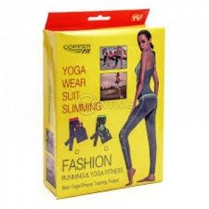 Спортен комплект за йога потник с клин