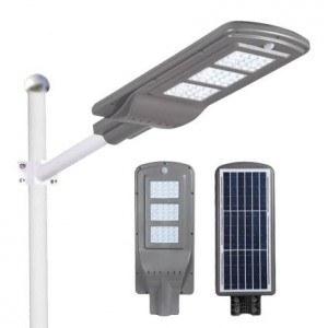 Соларна лампа 180W с датчик за движение