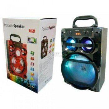 Bluetooth тонколона KTS-901 10W USB/FM/SD/AUX LED