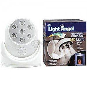 LED лампа на батерии с датчик за движение Light Angel