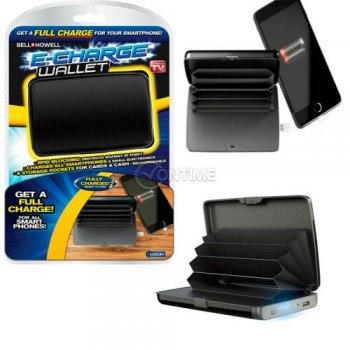 Външна батерия с органайзер портмоне Charge Wallet