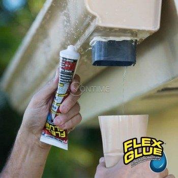Много силно лепило силикон Flex Glue