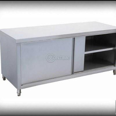 Работна маса шкаф с плъзгащи врати