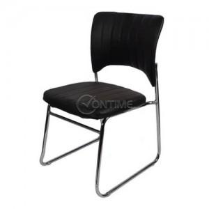 Тръбен стол еко кожа